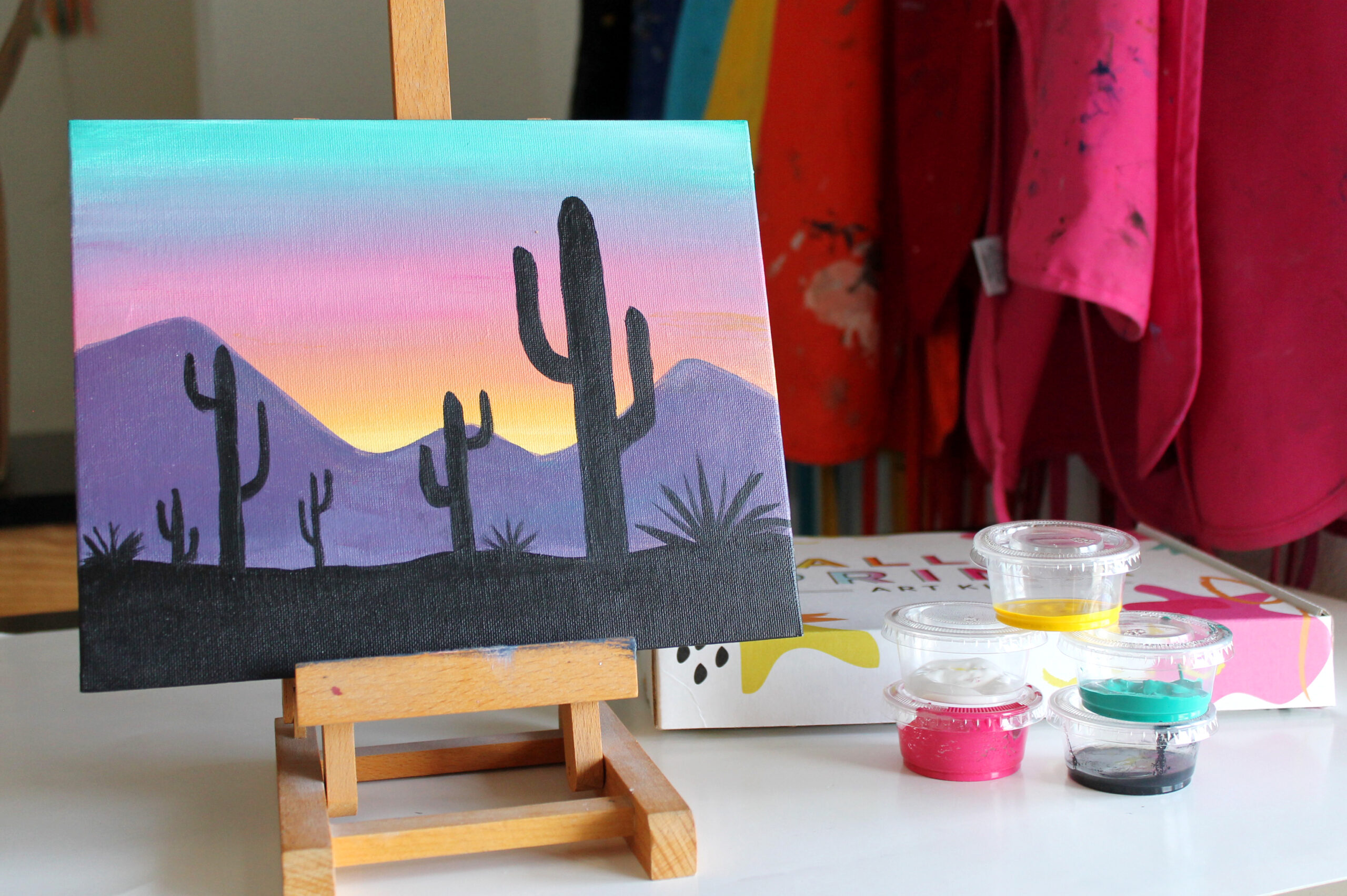 desert sunset product image